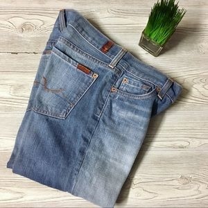 EUC 7 for all man kind Bootcut 27 waist
